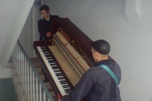 Как перевезти пианино?