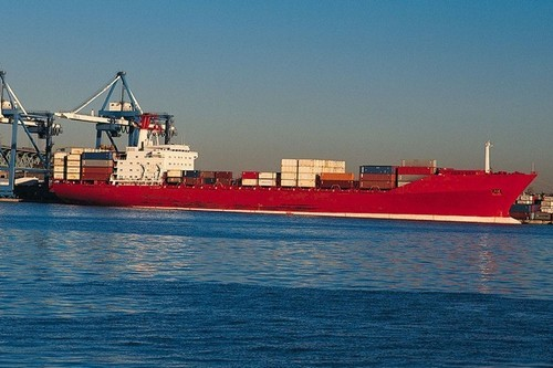 Мониторинг перемещения грузовых судов