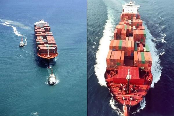 Фрахт за перевозку в зависимости от типа контейнера
