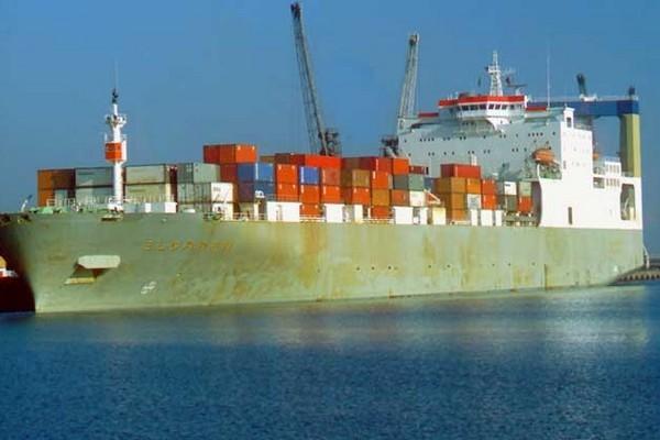 Изменение стоимости контейнерной перевозки во времени